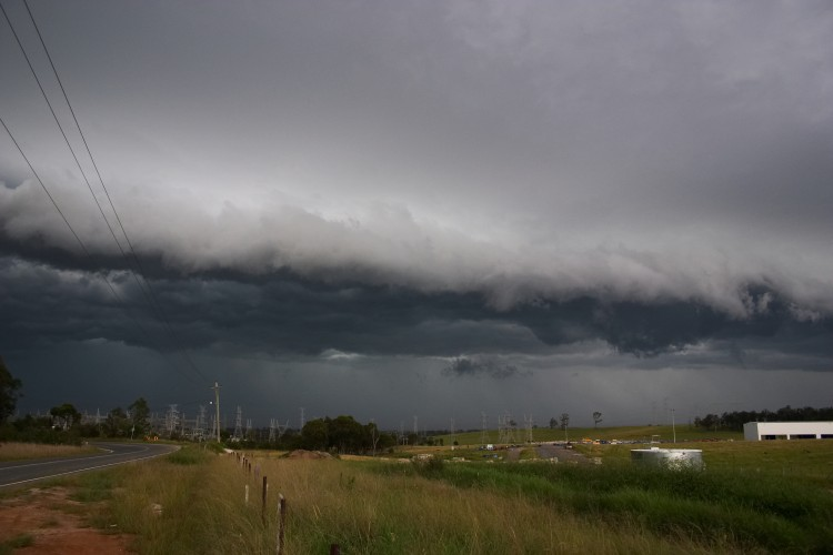 2nd December 2005 Squall Line Chase Across Western Sydney